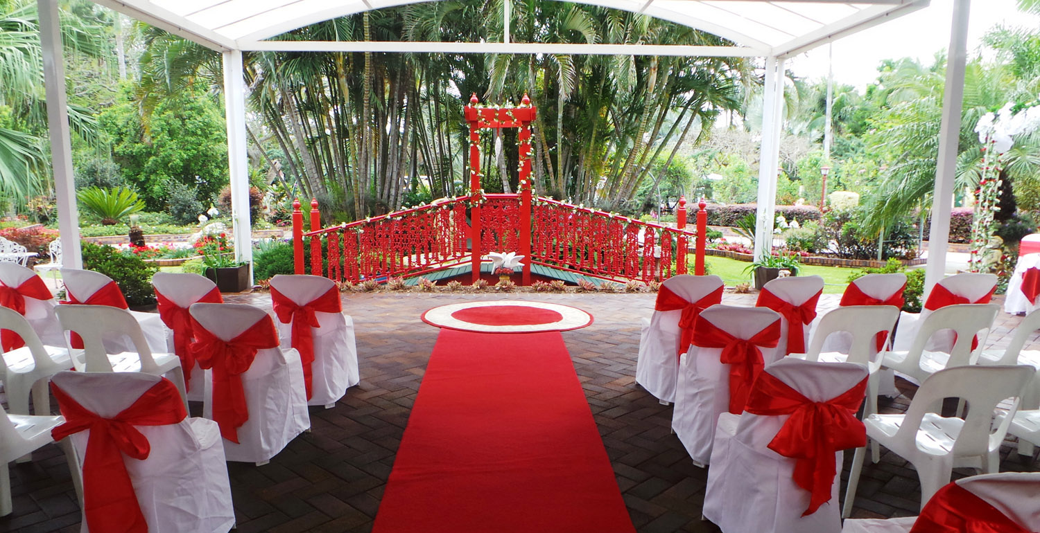 All Weather Area For Your Wedding Ceremony